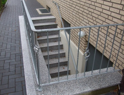 Außentreppe – Keller